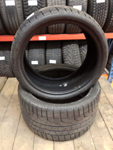 235/35R19 front and 295/30R19 rear Pirelli winter