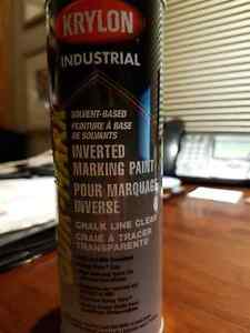 """CLEAR INVERTED MARKING PAINT """" REDUCED TO CLEAR OUT ''"""