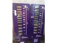 Slim vending machines