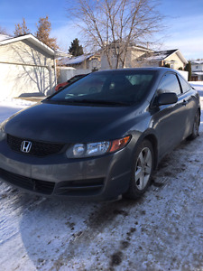 Selling 2009Honda Civic Coupe with very low kms 115000