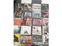 Cd's of popular music from 90's to current day