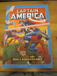 Captain America War & Remembrance TPB John Byrne 1st Edition