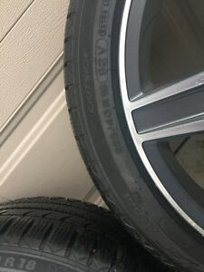 Mercedes AMG rims ,winter tires London Ontario image 5