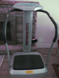 T-zone whole body vibration system for health and weight loss