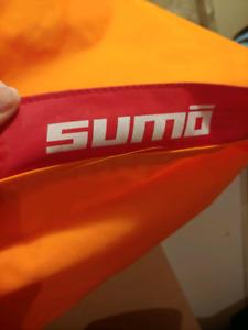 Orange Omni Sumo Bean Bag