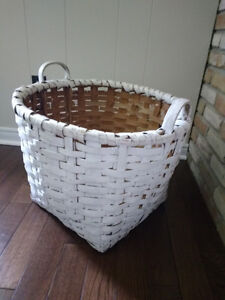 Authentic Maritime Wicker Fish Basket