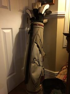 Équipement de golf Callaway pour débutant