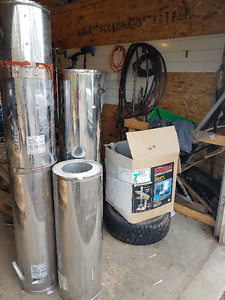 Sentinel Stainless Steel Chimney for Wood Stoves