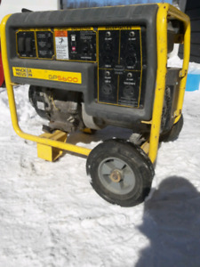 Wacker Neuson GP 5600 Generator. with Honda GX 390 engine.