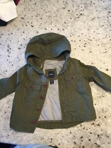 Gap Army 3 in 1 Coat (size 3-6 months)