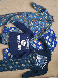 Boys size 5-6 pajamas, good condition, $30 obo
