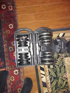 Bench Press + Punching bag + weights for sale