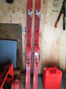 Vintage Karhu Telemark Skis