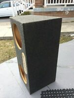 "2 12"" inch subwoofer box for car audio system"
