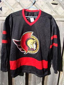 OTTAWA SENATORS CCM NHL HOCKEY JERSEY SHIRT YOUTH LARGE