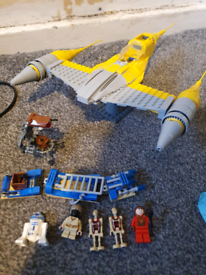 Lego star wars set 7877 naboo starfighter