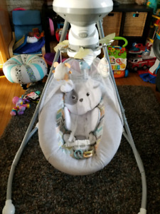 Fisher price  puppy swing
