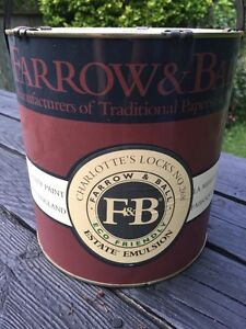 Farrow and Ball Paint- new