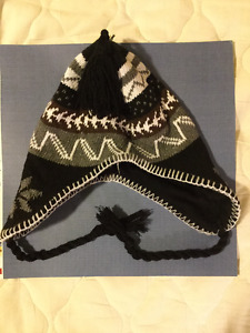 Black & White Winter Hat