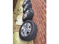205 60 15R Alloy wheels!!!quick sale