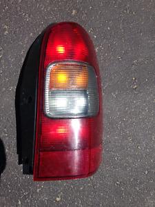 Lumière arrière GMC Venture ou Uplander