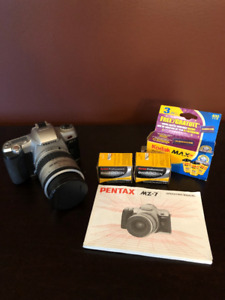 Pentax Film SLR Camera with 4 rolls of film