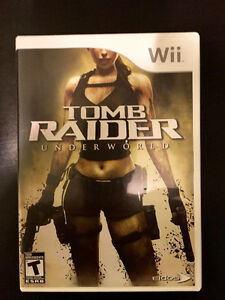 Wii Prince of Persia Rival Swords and Tomb Raider Underworld Edmonton Edmonton Area image 1