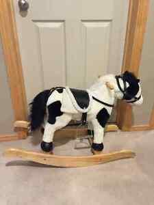 Animated Rocking Horse