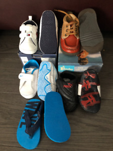 5 pairs of Toddler Boy Shoes Size 4C