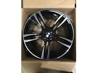 "Set of 19"" M4 style Alloy Wheels BMW ."