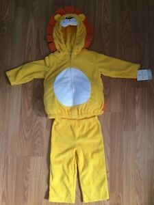 12 Months Carters Lion Costume NWT