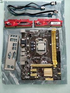 GAMING COMBO || ASUS HB1M-E, i5 4430, 8 GB DDR3, CM EVO 212
