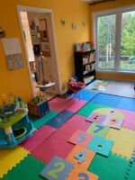 Spots availible in our bilingual and fun home daycare