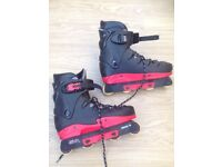 Cougar Adult size 10-11 rollerblades
