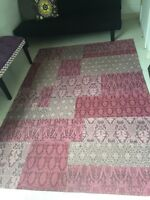 Purple rug from Home Sense