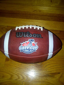 2007 Saskatchewan Roughriders Grey Cup Game Ball CFL Regina Regina Area image 2