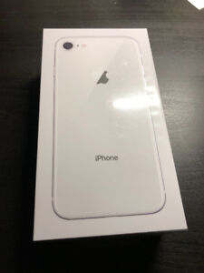 iPhone 8 64GB Silver. Factory Sealed, Brand New, Unlocked