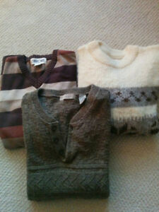 Men's sweaters - size L - Lot of 6 sweaters - see photos