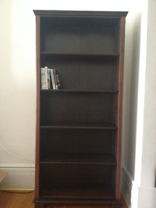 Beautiful Solid Wood Ikea Markor Bookcase For