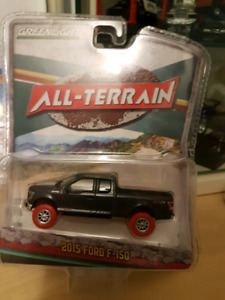 Greenlight Green Machine Red Tire Chase Ford F150