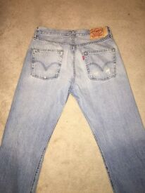 Men's Levi's 501 Jeans W32 L34