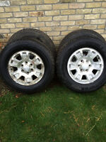 GMC rims and Winter tires