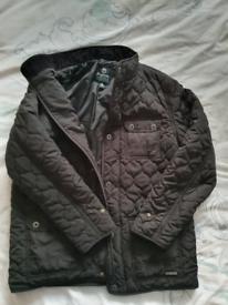 Black padded jacket. Firetrap