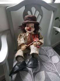 Antique clown