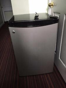 Good size. Good condition. GE mini fridge.