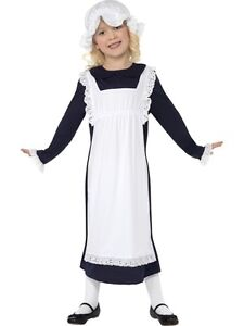 Child-Victorian-Poor-Girl-Age-10-12-Costume-Large-Fancy-Dress