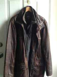 Danier Leather heavy jacket