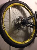 Dee max wheel with bolt on hub and single speed sprocket