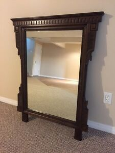 ***new price - solid wood mirror Peterborough Peterborough Area image 1