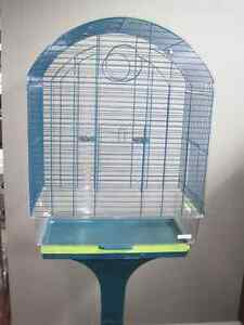 Large bird cage, wire top